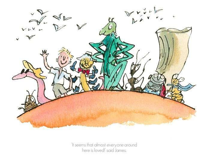 Quentin Blake Amp Roald Dahl James Amp The Giant Peach