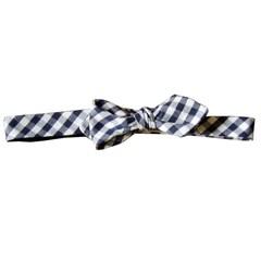 Brett Gingham Bow Tie