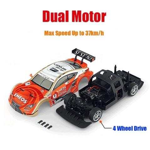 GTR/lexus 4wd Rc Drift Cars dual motor
