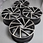 19 Inch Black Wheels Rims Full Set Of 4 Fit For Vw Golf R Gti Jet Md Auto Workshop