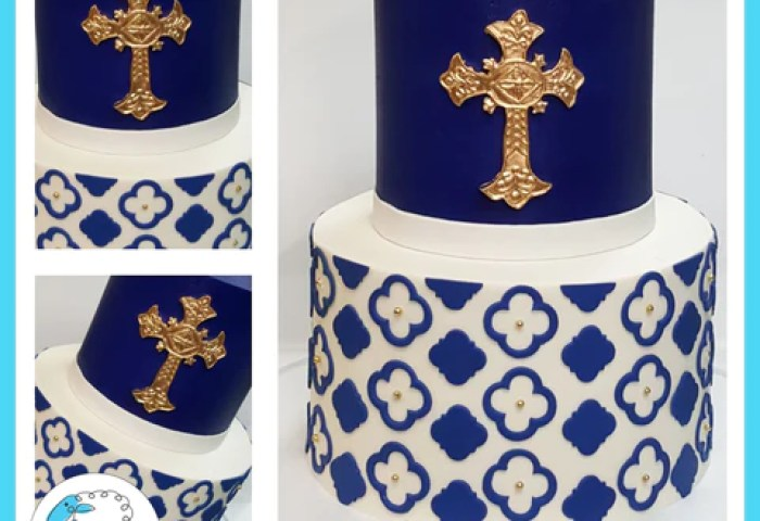 Religious Cakes Blue Sheep Bake Shop