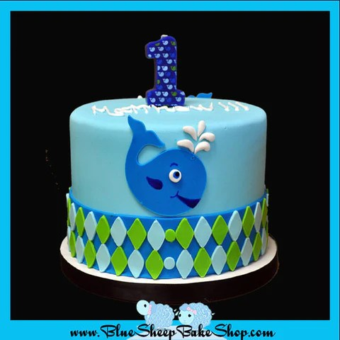 Custom Specialty Cakes And Cupcakes Nj Blue Sheep Bake