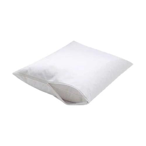 vinyl zippered waterproof pillow cover