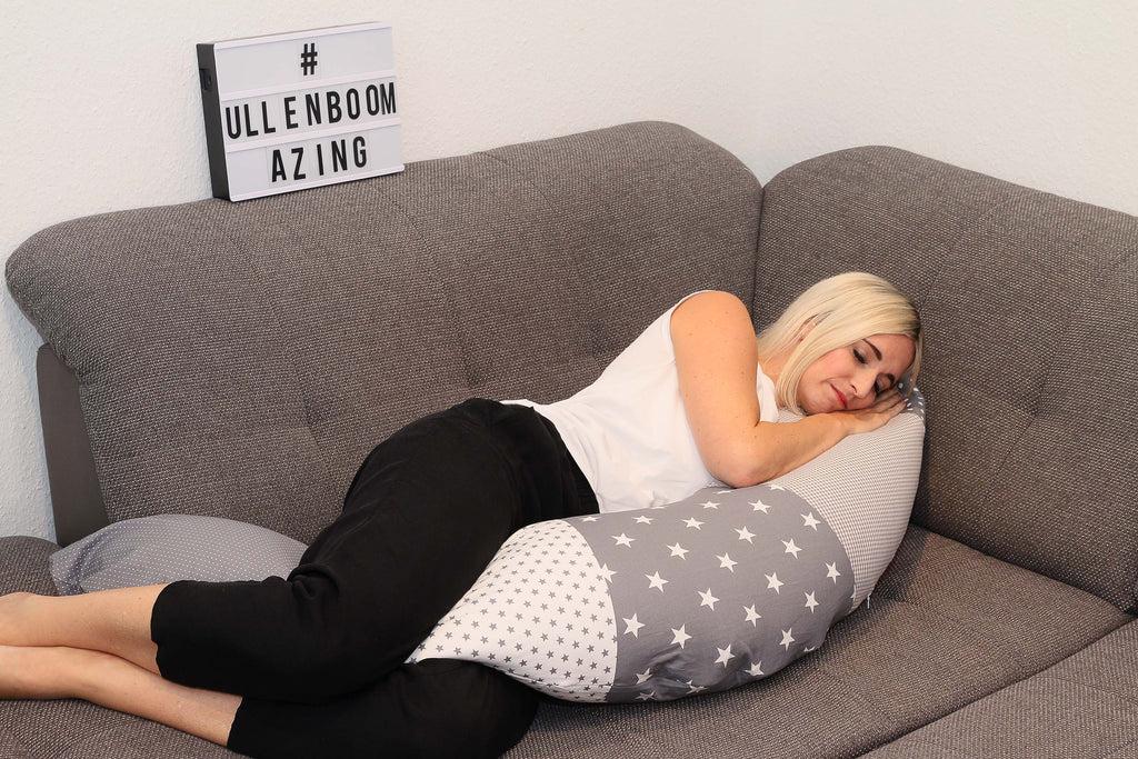 organic nursing pillow best pregnancy pillow for side sleepers grey