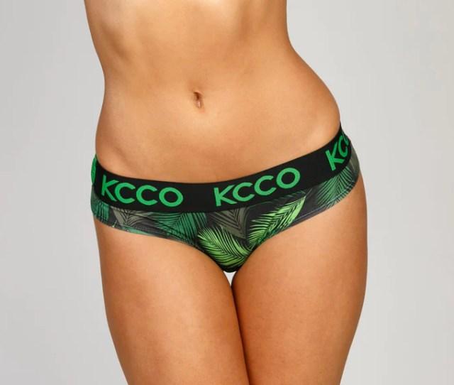 Kcco Palm Fronds Thong