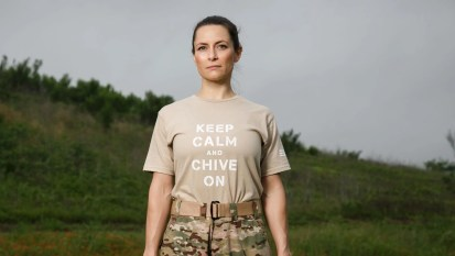 Image result for keep calm and chive on beige