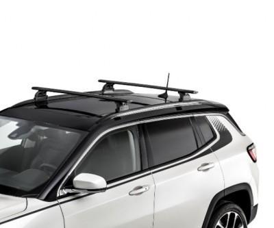 jeep compass m6 crossbars roof