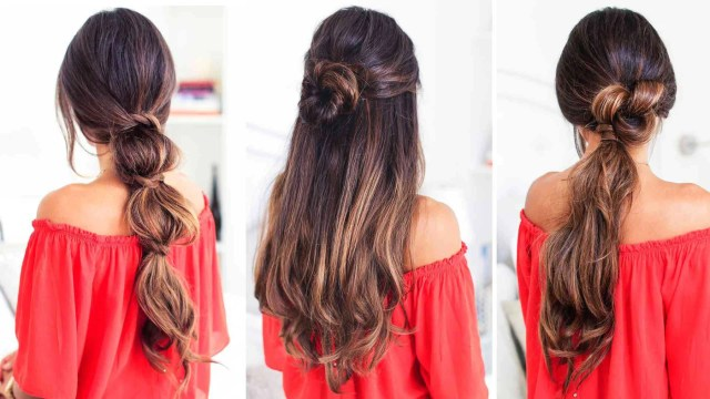 3 lazy hairstyles for lazy days – luxy hair