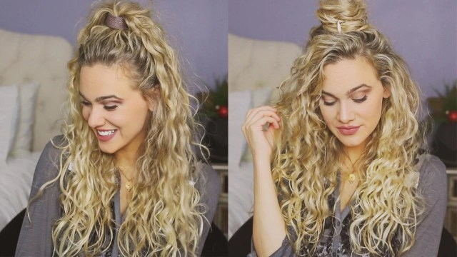 3 easy holiday hairstyles for curly hair – luxy hair