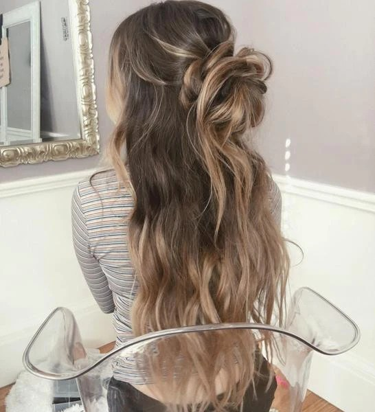 Image Result For Long Hair Prom Styles