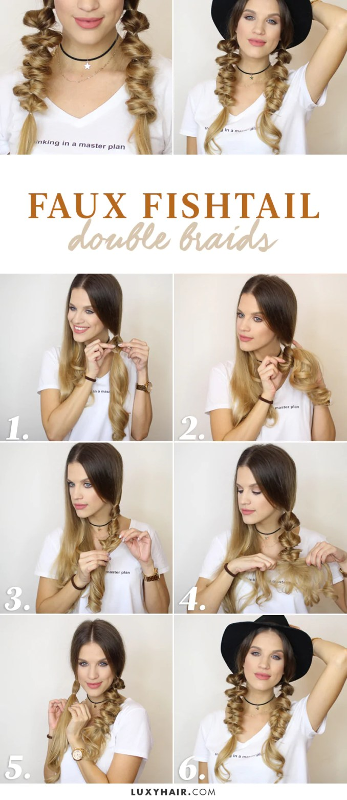 3 easy hairstyles for fall (heatless) – luxy hair