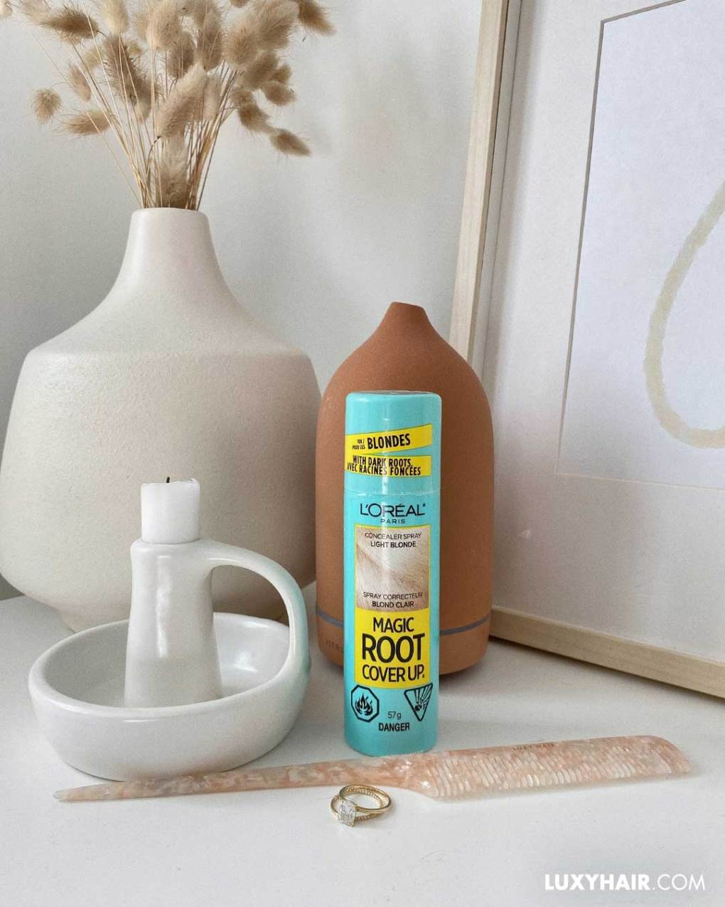 Root touch up sprays