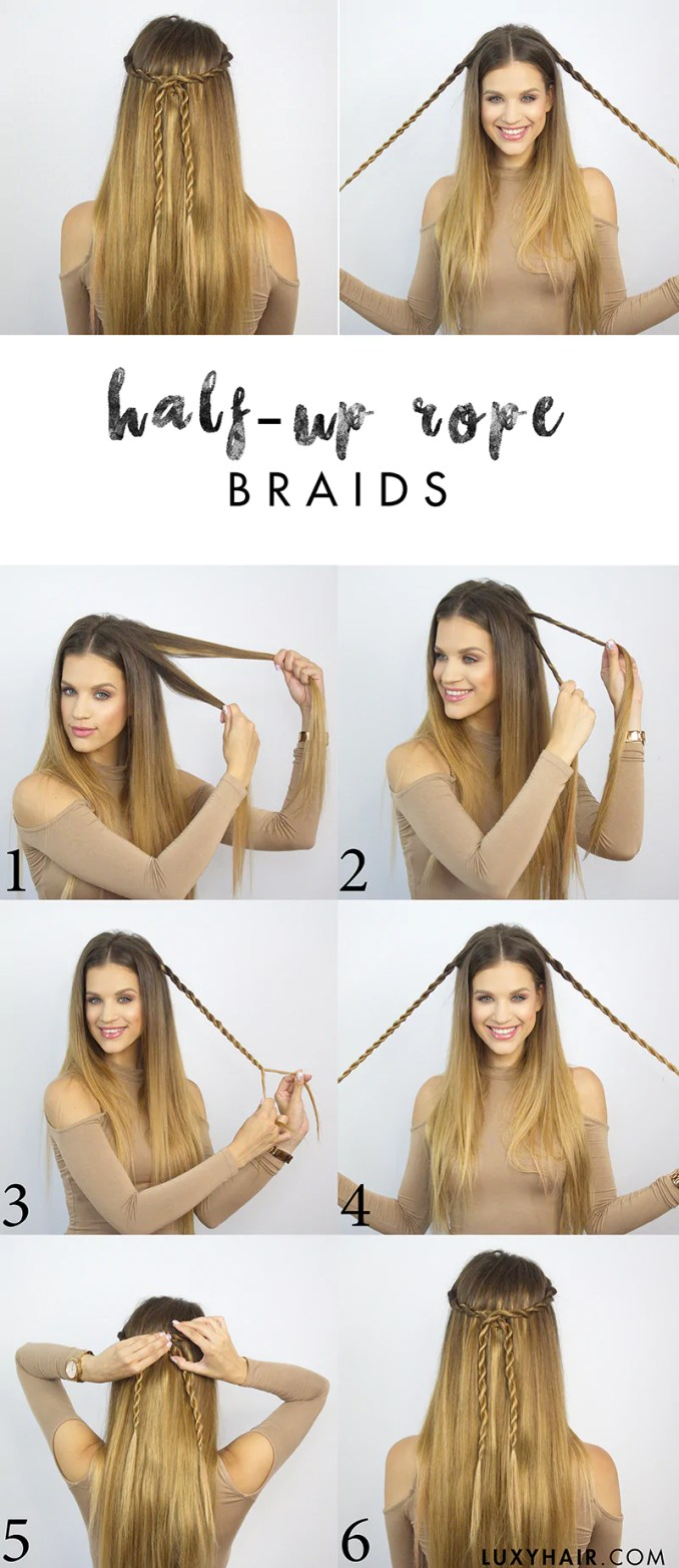 easy back to school hairstyles - tspa fargo beauty school