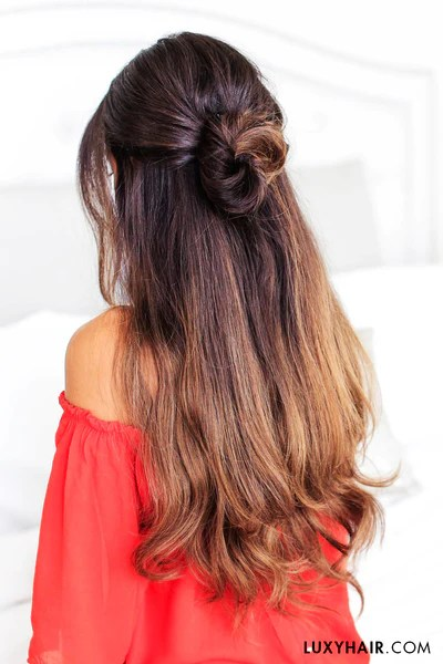 3 Lazy Hairstyles For Lazy Days Luxy Hair