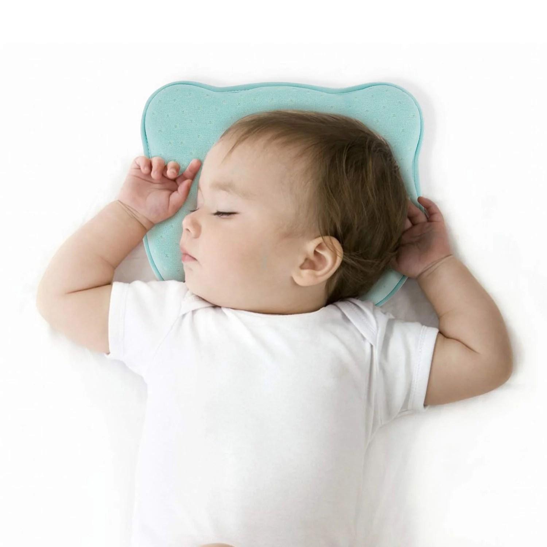 newborn baby head shaping pillow