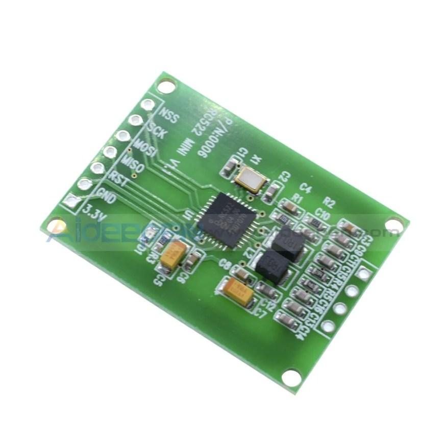 13.56MHz RFID Reader Writer Module SPI Interface IC Card ...