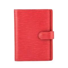 Louis Vuitton Castillian Red Epi Leather Agenda PM Cover (Pre Owned)