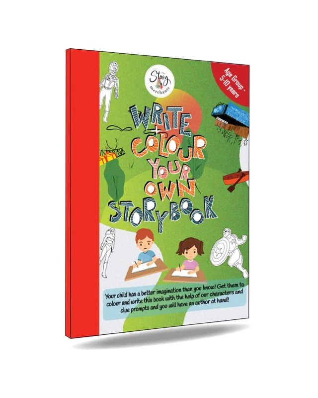 WRITE + COLOUR YOUR OWN STORYBOOK – The Story Merchants