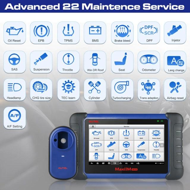Autel im508 key programmer with 22 diagnostic services