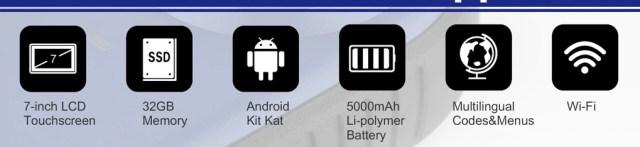Autel im508 key programmer hardware specification