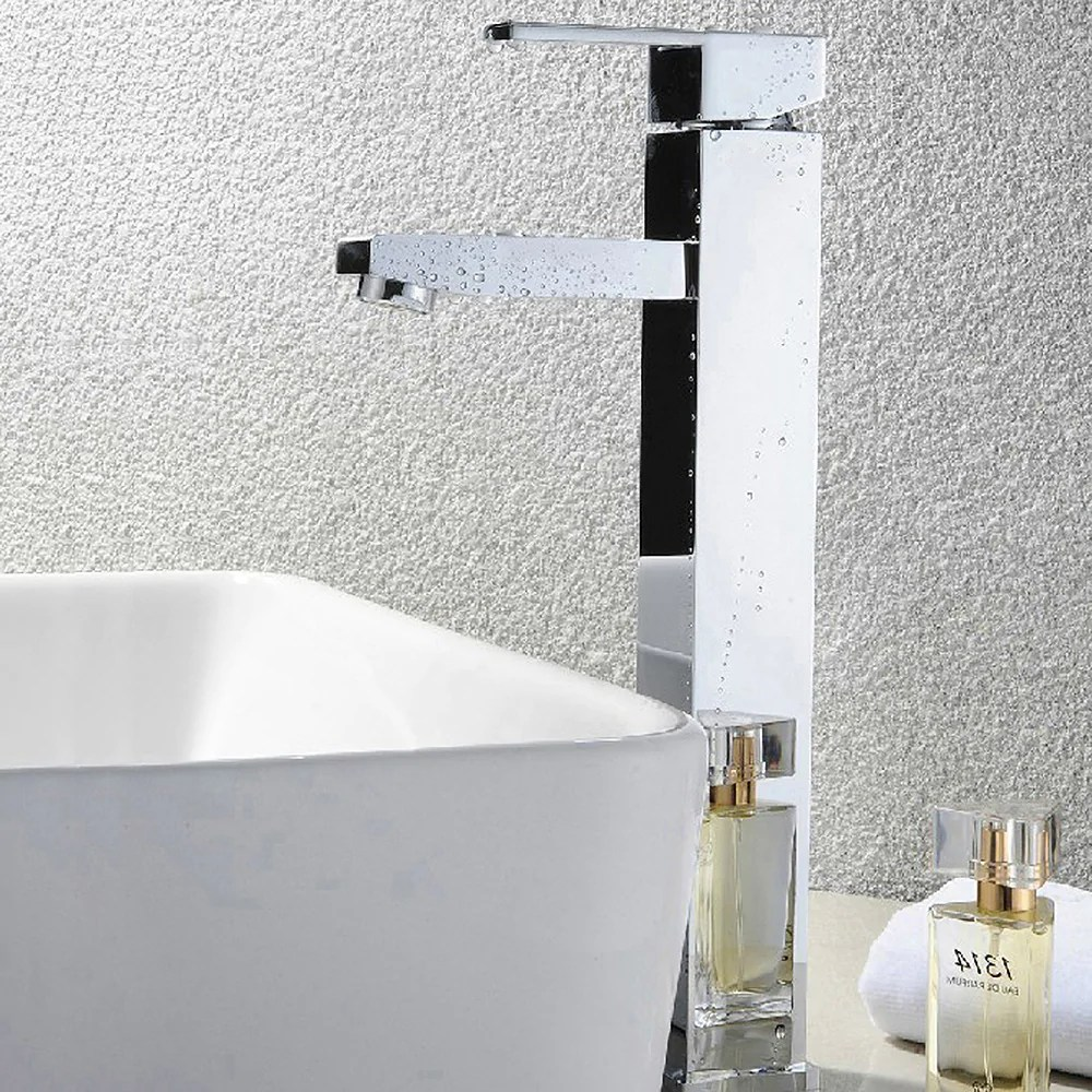 single handle modern bathroom sink faucet upc certified deck mount sin homebeyond