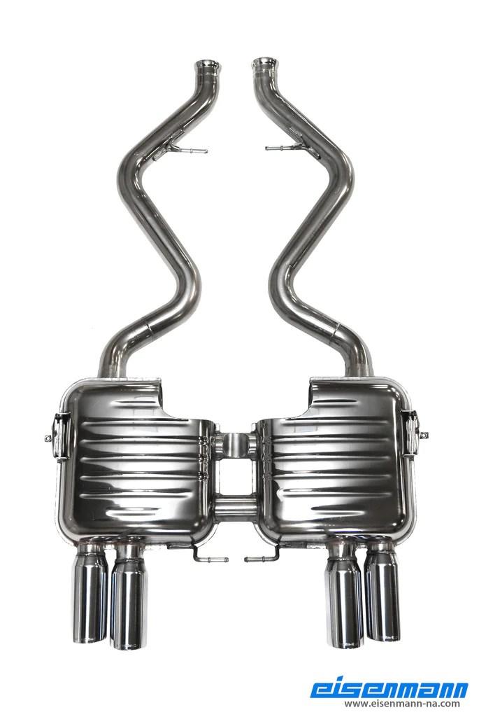 eisenmann e92 e93 m3 performance exhaust