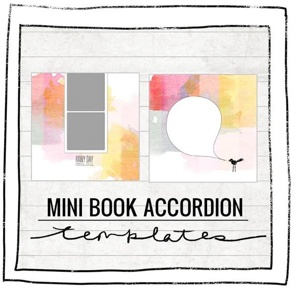 Accordion Book Template  lisa mae premade photography