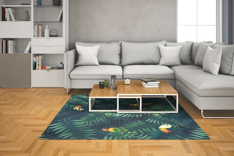 tapis vinyle 6 dimensions disponibles
