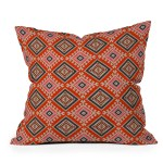 Bohemian Farmhouse Geo Throw Pillow Holli Zollinger
