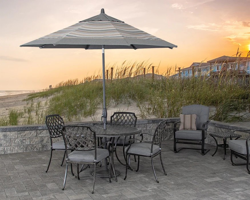 https greatbackyard com products madison 48 round patio dining set