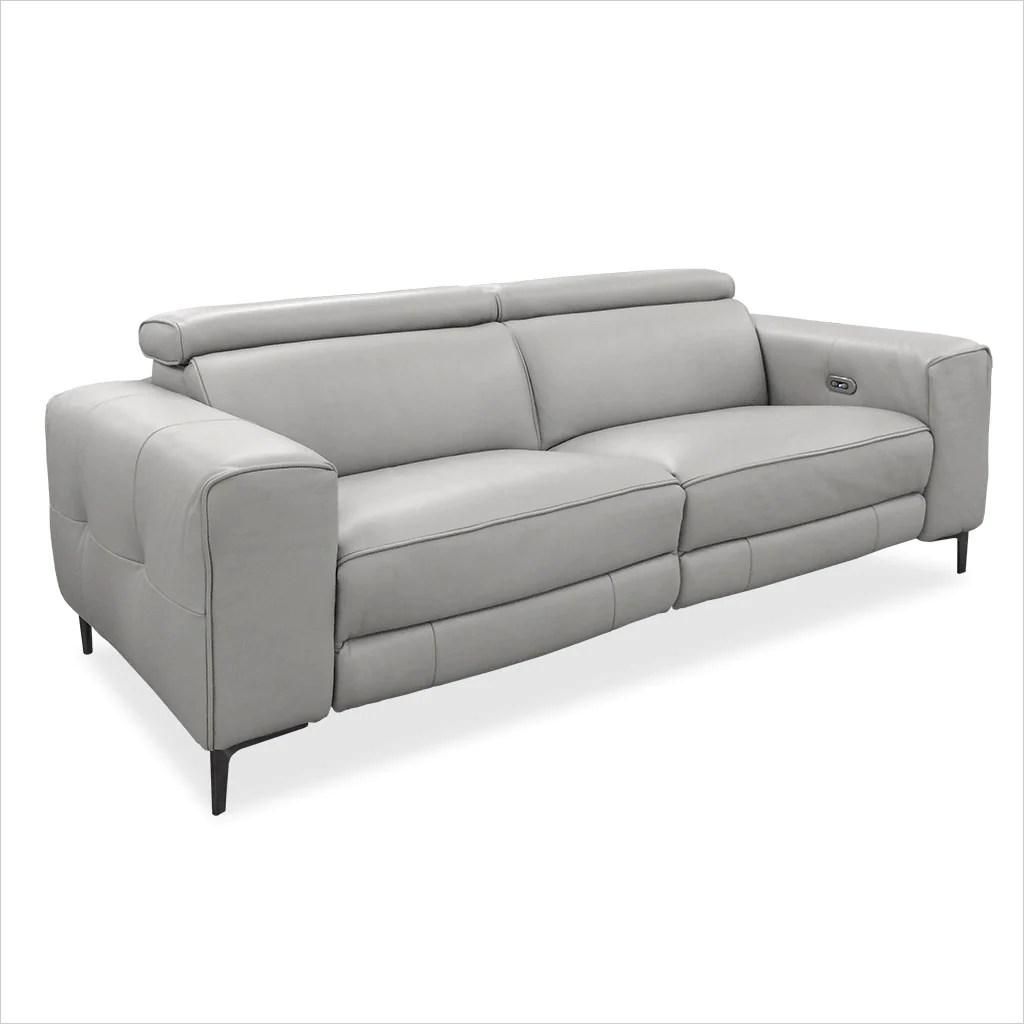 Esther Recliner Sofa Grey