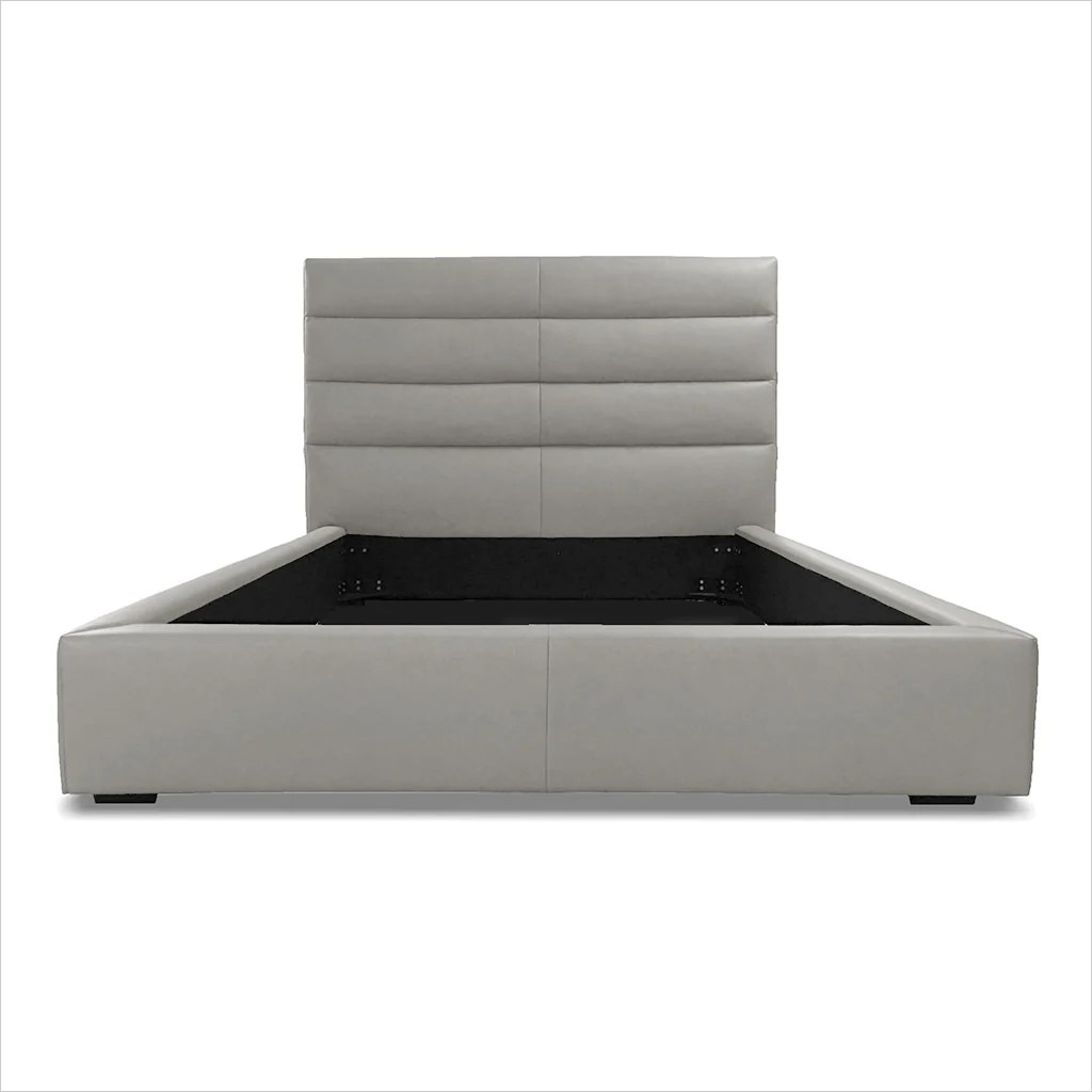 Abaco Leather Bed Stone Scan Design Modern And Contemporary Furniture Store