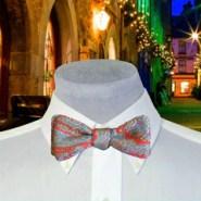 Bright Silk Paisley Bow Tie
