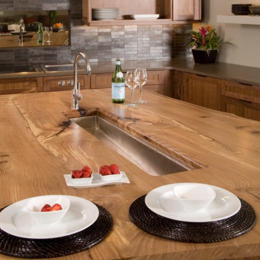 awesome use for unusable kitchen island