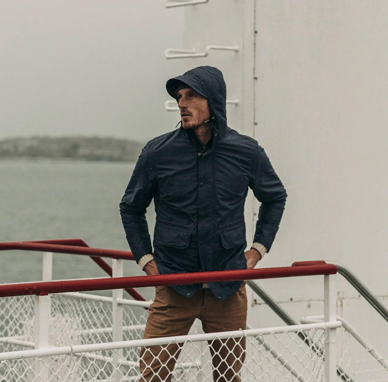 The Dalton Jacket in Navy - Classic Men's Clothing | TS…