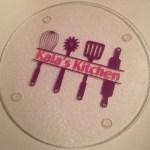 Design 11 Kitchen Utensils Personalized Glass Cutting Board Craft E Corner