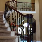 Plain Square Bar Wrought Iron Baluster Affordable Stair Parts Affordable Stair Parts