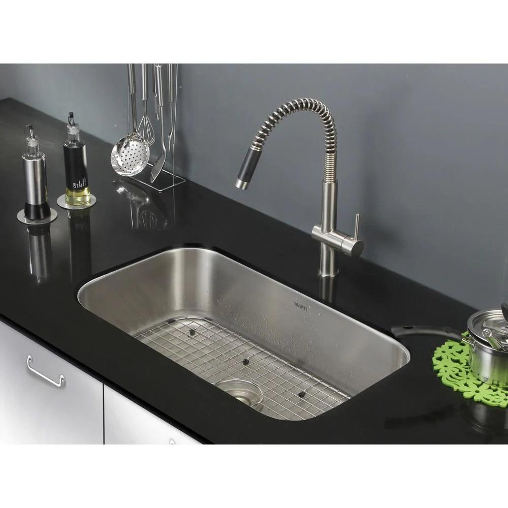 ruvati parmi single bowl kitchen stainless steel sink 30 x18 model rare closeouts