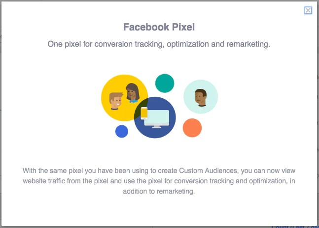 Facebook pixel.