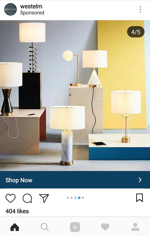 Carousel ads on Instagram