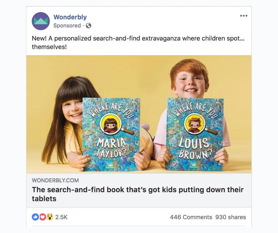 Optimizing clicks for Facebook ads.
