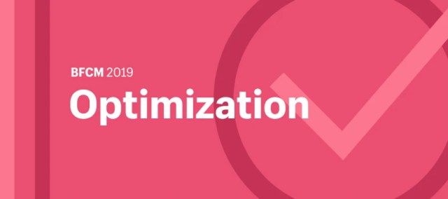 "Illustration featuring the word ""Optimization"" and a checkmark."