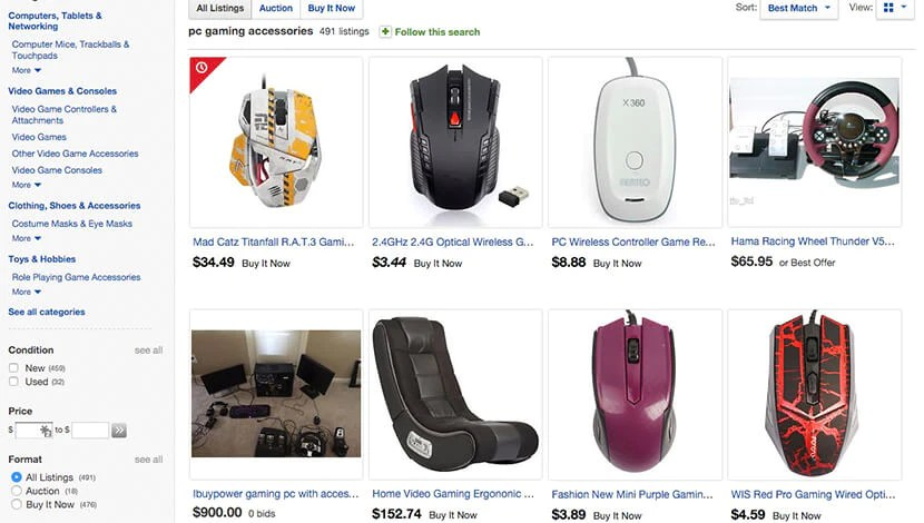 Продукты на Ebay