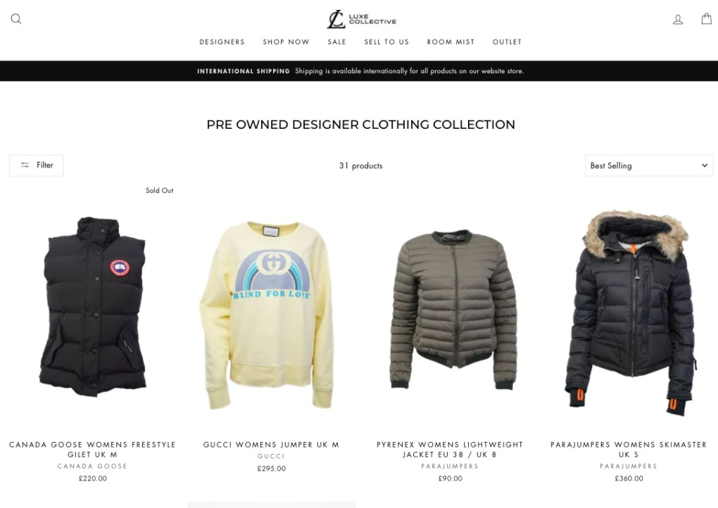 luxe-collective-designer-clothing-product-collection