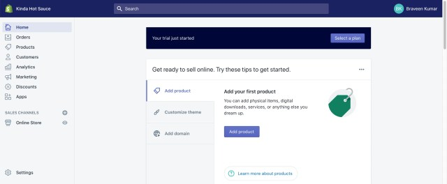 easy steps to startup your shopify store for dropshipping