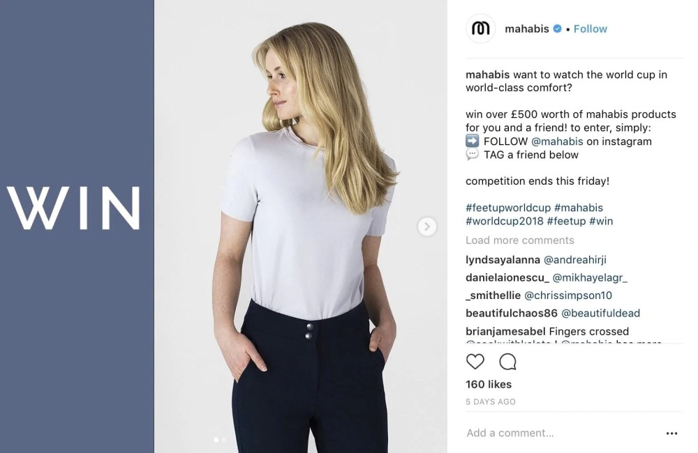 tag a friend instagram post idea