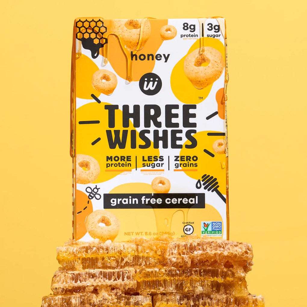The honey flavour of Three Wishes Cereal
