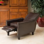 Lucas Modern Leather Recliner Chair Gdfstudio