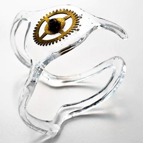 Cirkuita Spaceship - Bracelet - clock spring