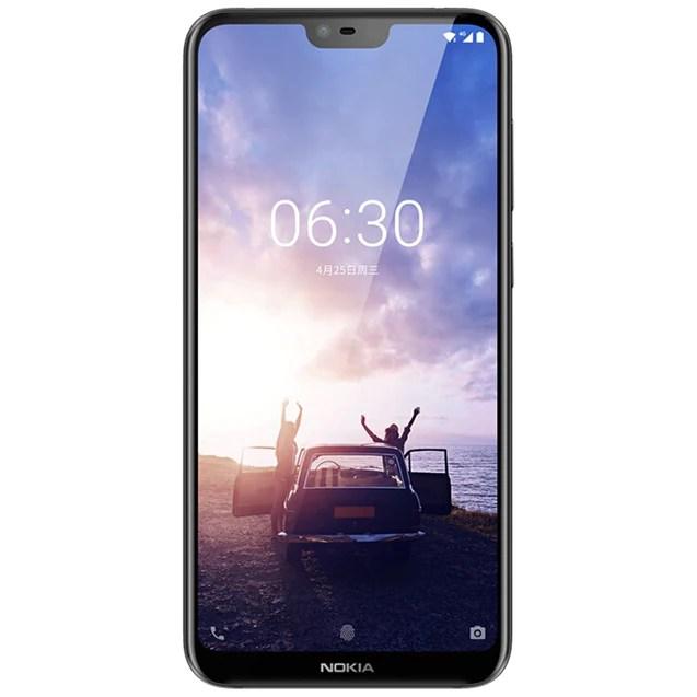 Image result for NOKIA X6 5.8 inch 4G Phablet International Version - BLACK 285650801